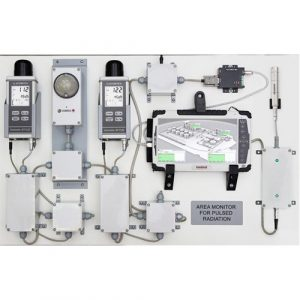 AREA MONITOR FOR PULSE RADIATION