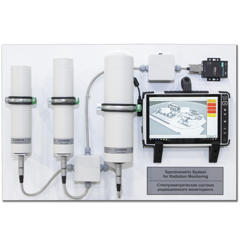 AT6105 SPECTROMETRIC SYSTEM FOR RADIATION MONITORING